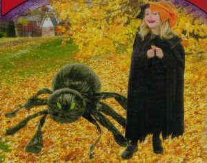 Giant Lawn Spider - Halloween Yard Decoration - NEW