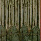 "42"" x 72"" Woods & Cemetery Mural - Halloween Prop/Decor - NEW"