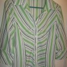 Taylor B Moss - Striped Blouse - Size Medium