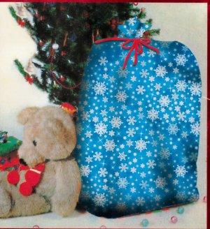 "Giant Snowflake Gift Bag - 36"" X 44"" - *NIP*"