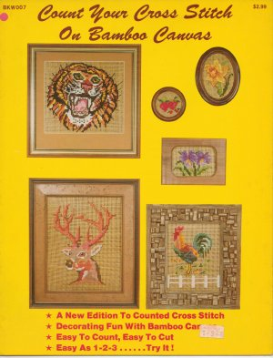 Count Your Cross Stitch On Bamboo Canvas Leaflet