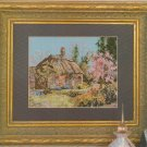 Marty Bell's English Countryside III - Cherry Tree Thatch - Cross Stitch Leaflet