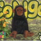 TY Beanie Baby Card # 173 Congo the Gorilla-Style # 4160-2nd Ed -Ser 4-1999