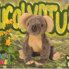 TY Beanie Baby Card # 180 Eucalyptus the Koala-Style # 4232-2nd Ed -Ser 4-1999