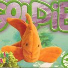 TY Beanie Baby Card # 190 Goldie the Goldfish-Style # 4023-2nd Ed -Ser 4-1999