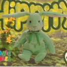 TY Beanie Baby Card #195 Hippity the Mint Bunny-Style # 4119-2nd Ed -Ser 4-1999