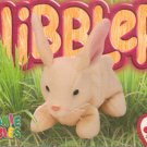 TY Beanie Baby Card # 213 Nibbler the Rabbit-Style # 4216-2nd Ed -Ser 4-1999