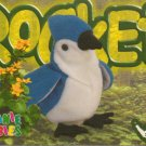 TY Beanie Baby Card # 223 Rocket the Blue Jay-Style # 4202-2nd Ed -Ser 4-1999