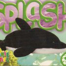 TY Beanie Baby Card # 233 Splash the Whale-Style # 4022-2nd Ed -Ser 4-1999