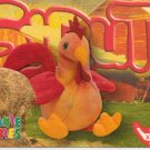 TY Beanie Baby Card # 240 Strut the Rooster-Style # 4171-2nd Ed -Ser 4-1999
