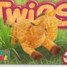 TY Beanie Baby Card # 250 Twigs the Giraffe-Style # 4068-2nd Ed -Ser 4-1999