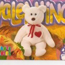 TY Beanie Baby Card # 251 Valentino the Bear-Style # 4058-2nd Ed -Ser 4-1999