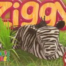 TY Beanie Baby Card # 256 Ziggy the Zebra-Style # 4063-2nd Ed -Ser 4-1999