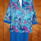 3 pc. Ladies Dress - Size 12P - Dress, Jacket, Belt