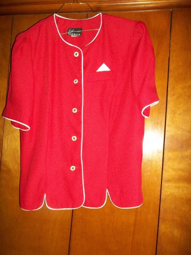 Ladies Red Jacket - Size 16 (Breli Originals)