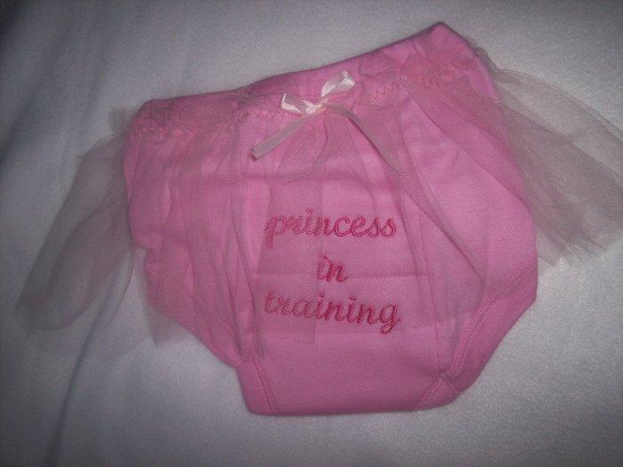 Princess In Training tutu Potty Pants