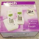 VTECH T2435 2.4 GHz DUAL HANDSET CORDLESS PHONE