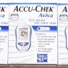 ACCU-CHEK AVIVA BLOOD GLUCOSE MONITOR - 3 sets