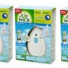 3 AirWick FreshMatic Mini Automatic Spray Fresh Breeze