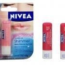 6 New Nivea A Kiss of Flavor Shimmer Moister Lip Care Balm