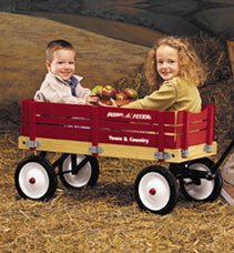 Radio Flyer Town & Country Wagon