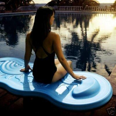 Eclipse Spongex Foam Pool Raft Water Float (green)