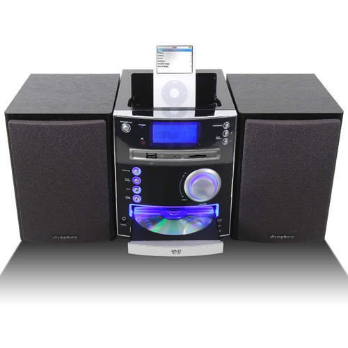 iSymphony M2i DVD Player iPod Docking Station System