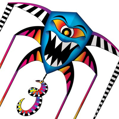 "Cyclops Monster Nylon Kite 76"" Wing Span"