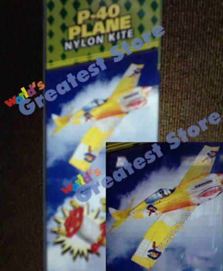 "P40 fighter Plane 48"" Nylon Kite"