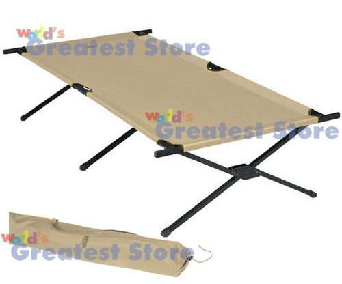 Adult Large Oversized Camping Cot by Wenzel (NEW)