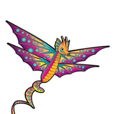 """Seahorse Kite 64"""" Wing Span Spintail"""