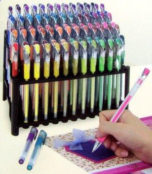 gelwriter scrapbooking gel pen 100 ct free organizer