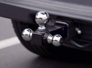 Triple Chrome-plated Ball Trailer Hitch