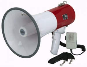 Megaphone with Safety Siren 765 yard Range