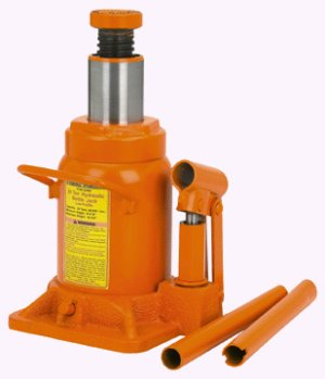 20 Ton Low Profile Industrial Hydraulic Bottle Jack