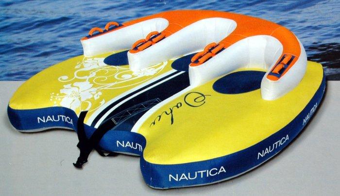 Nautica Towable Ski Tube Water Sport Raft 1 2 3 Person