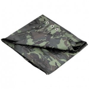 "Tarp 4 ft. 6"" x 6 ft. 6"" Camouflage"