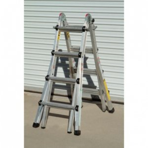 17' ladder -24 ladders in 1-300lb(ANSI 1A)