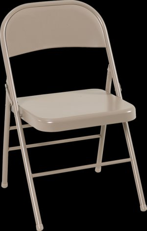 (4)Four Cosco All Steel Powder Coated Folding Chairs