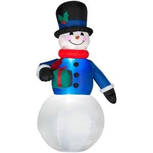 7 ft. Lighted Snowman Airblown Airblown Inflatable