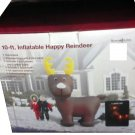 10 ft. Lighted Reindeer Airblown Airblown Inflatable