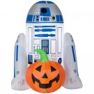 Halloween Inflatable Gemmy 4-ft Internal Light R2D2
