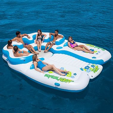 Floating Island 7 Person Inflatable Raft