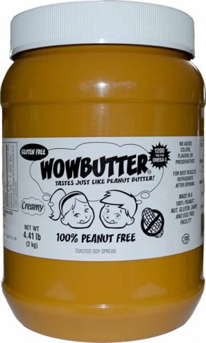 Wowbutter 100% Peanut free peanutbutter alternative 4.41lbs