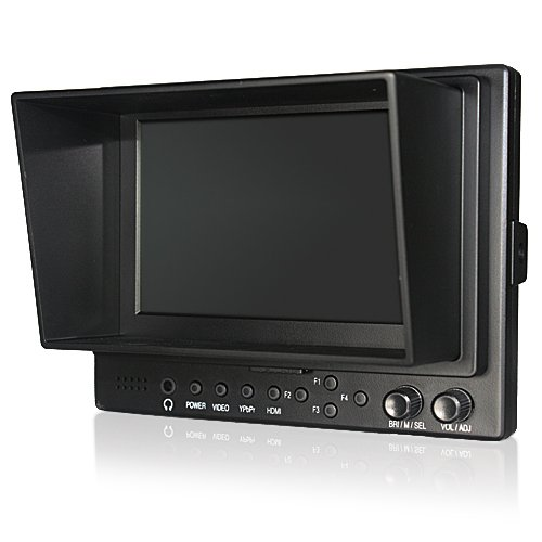 "LILLIPUT 569HO 5"" On-camera HD LCD field monitor w/ HDMI in HDMI out Component in Video in Video out"