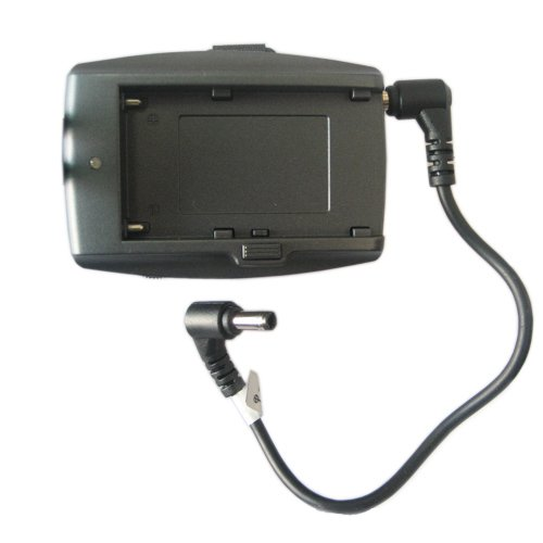 Battery Plate for SONY F970 F550 w/ DC cable for monitors+free shipping