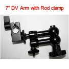 free shipping+7'' DV Articulating Magic arm w/ DSLR rig clamp rod clamp fr 5D2 7D 60D