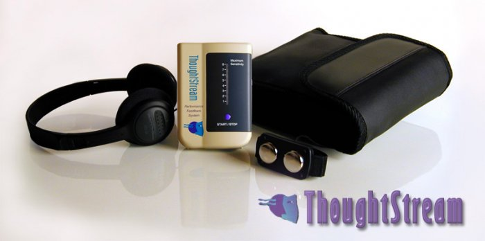 Thoughtstream Biofeedback System with Mental Games
