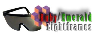 Mind Modulations Ruby/Emerald Lightframes for the Proteus Light and Sound Mind Machine