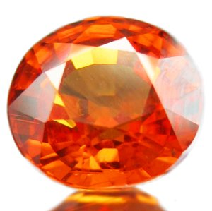 2.53CT NATURAL AAA RICH ORANGE FANTA SPESSARTITE GARNET